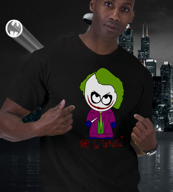 Joker Shirts by CuriousInkling.com