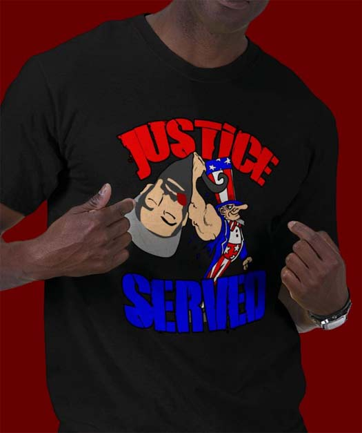 Osama Shirt: Justice Served!