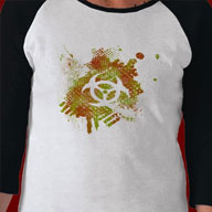 Biohazard Shirts and gifts. Great line of geek t-shirts here