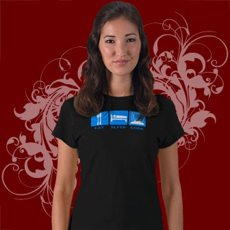 Eat Sleep Code Geek T-shirts