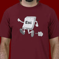 Funny Escape Key Shirts and More!