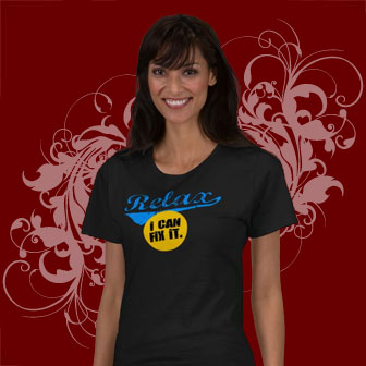Cool Teck Support T-shirt in distressed lettering