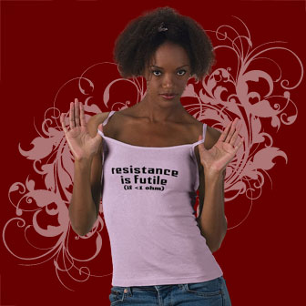 Resistance is Futile Shirts and Gifts