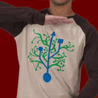 USB Tree Shirt