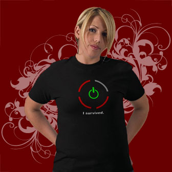 Xbox T-shirts: I Survived The Ring Of Death