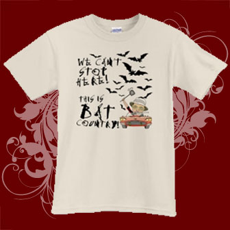 Bat Country Toon T-shirts