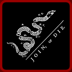 Join Or Die Shirts