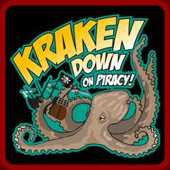 Kraken Down On Piracy