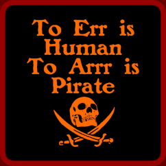 Err Human Arr Pirate Can Sleep The Ghosts Will Get