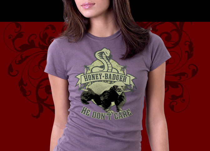 Honey Badger Shirts