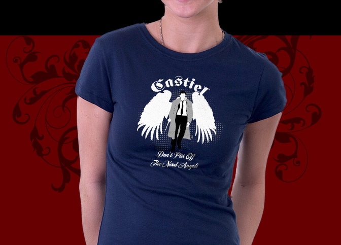 Supernatural Shirt Castiel